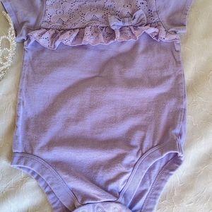 Garanimals® Girl Lace Ruffle Bodysuit